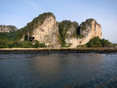 Rock Climbing Photo: Coming into Tonsai for the first time by longtail