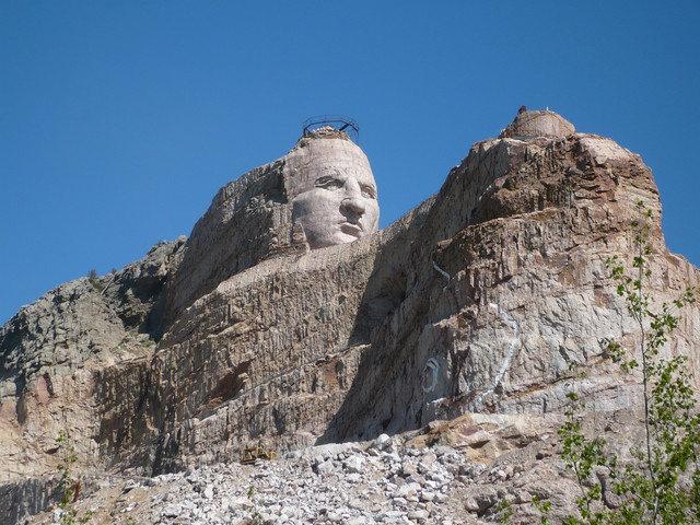Rock Climbing Photo: Crazy Horse Memorial