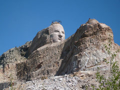 Rock Climbing Photo: Crazy Horse Memorial