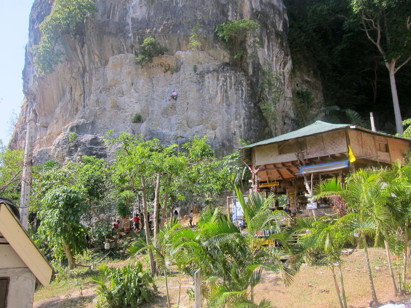 Rock Climbing Photo: From the road to Tonsai