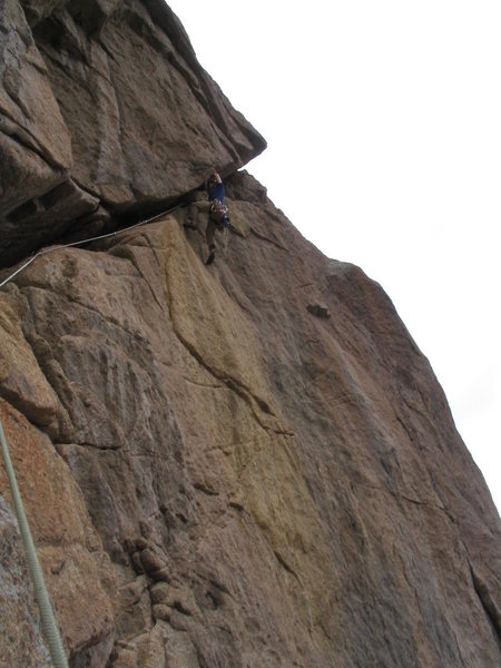 the crux of the Diagonal route