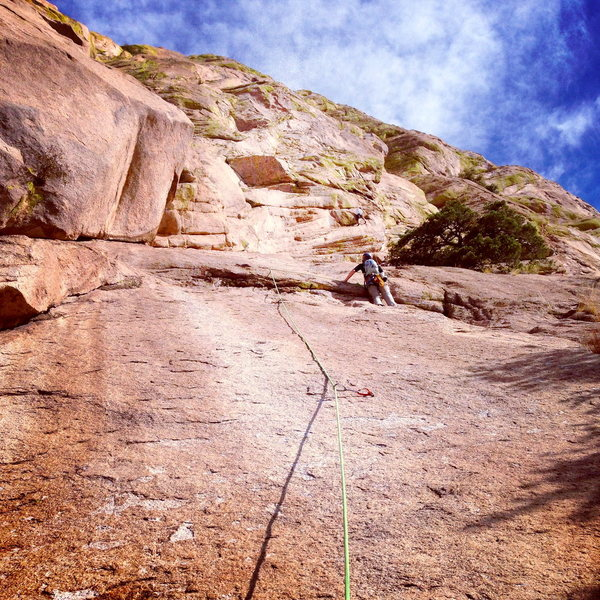 Rock Climbing Photo: The Peacemaker