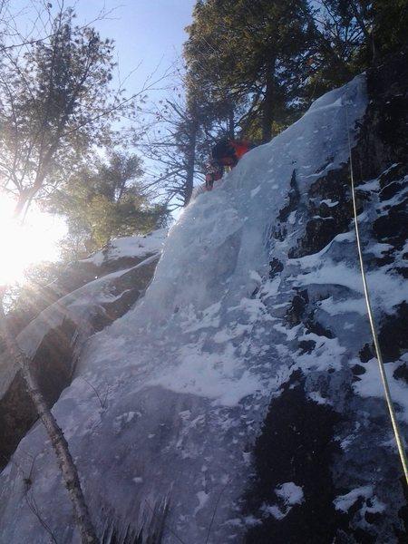 Rock Climbing Photo: Joshua Corbett on a line on the great white hype w...