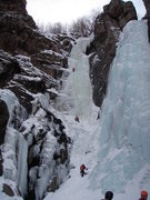 Rock Climbing Photo: Sarigelin in the middle with Lucifer to the right