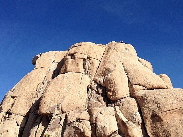 Rock Climbing Photo: Intersection Rock, Joshua Tree NP