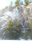 Rock Climbing Photo: Jay on the Flywalk