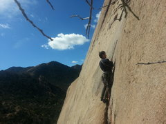 Rock Climbing Photo: Austin starting WML Direct
