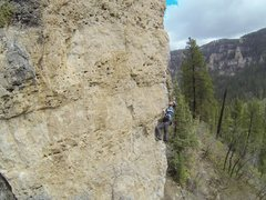 Rock Climbing Photo: spearfish