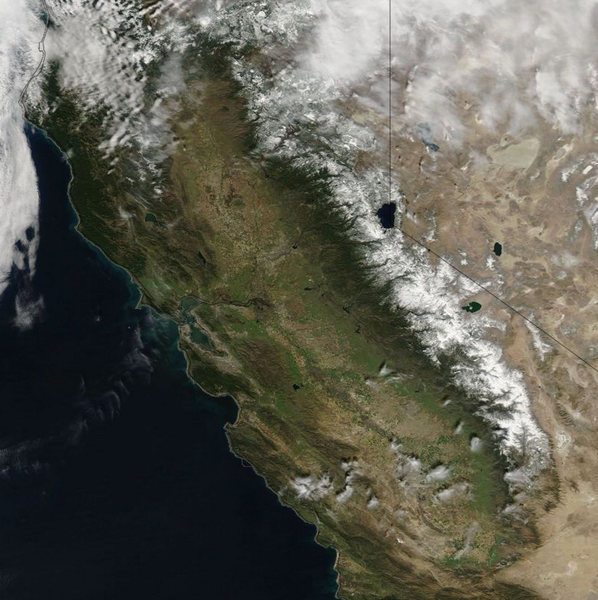 Sierra Snow, February 2013