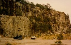 Rock Climbing Photo: The Toprope Buttress in the 80's. Photo credit goe...