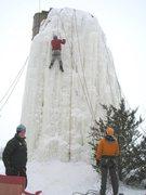 Rock Climbing Photo: climbin ice!