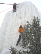 Rock Climbing Photo: this was the best ice they had ever had.