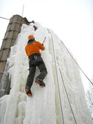 Rock Climbing Photo: climbing the nose route.