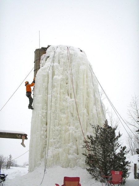 Midwest ice!