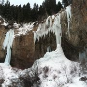 Rock Climbing Photo: Ice Palace in Rifle.