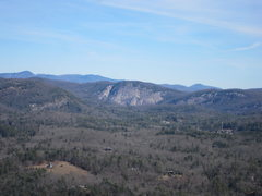 Rock Climbing Photo: View of laurel knob from Starshine.