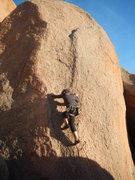 Rock Climbing Photo: Orient Express, Enchanted Rock