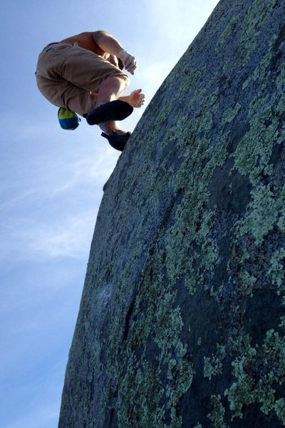 Rock Climbing Photo: Levitation, yep thats right! On TWL...