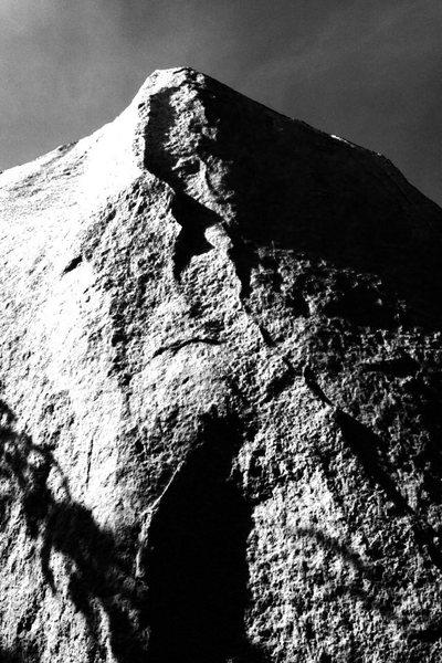 Rock Climbing Photo: Looking up Stone Master Arête.