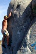 Rock Climbing Photo: Bobathan's Folly!
