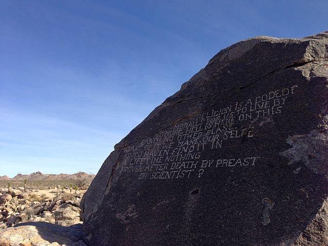 Samuelson's Rocks, Joshua Tree NP