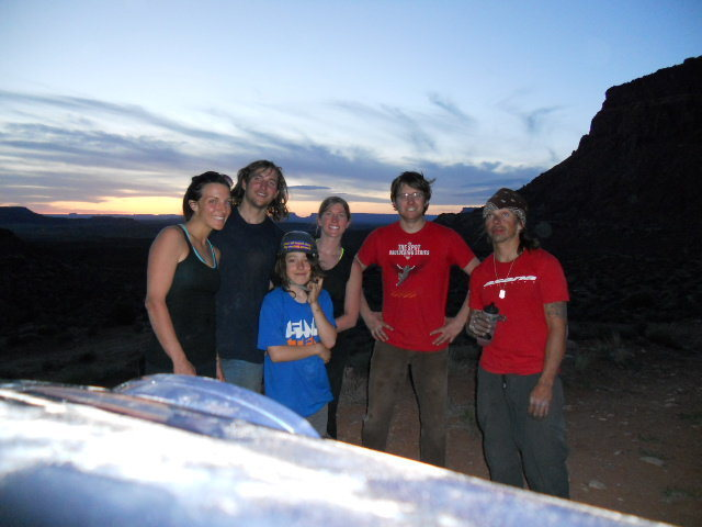 Rock Climbing Photo: end of the day 08