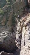 Rock Climbing Photo: Fun route enabling a little Crackers climbing