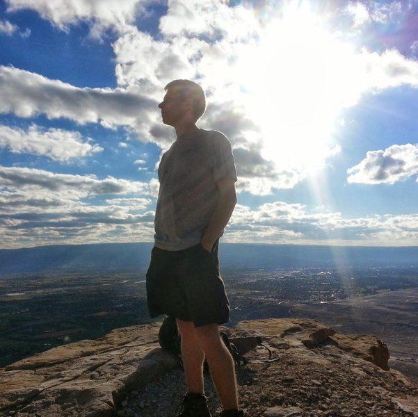 Rock Climbing Photo: Mt Garfield