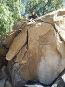 Rock Climbing Photo: My friend and my first outdoor climbing trip (that...