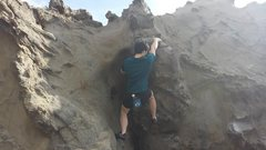 Rock Climbing Photo: Somewhere between Lieback and Gather Up. Used the ...