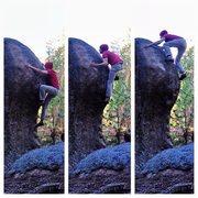 Rock Climbing Photo: Wrestling The Buffalo (v5)