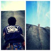Rock Climbing Photo: Crime of the Century