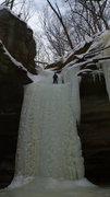 Rock Climbing Photo: Topping-out Ottawa.