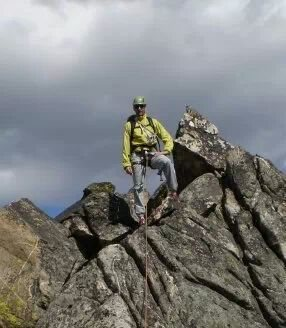 Rock Climbing Photo: Beehive Peak