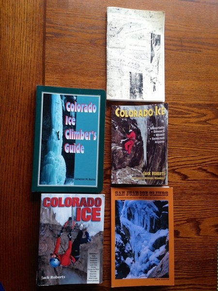 5 guidebooks with no mention of route.<br> Charlie Fowlers 1991, Cameron Burns 1997, Jack Roberts first edition 1998, Damon Johnston 2009, Jack Roberts second edition 2005.
