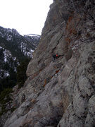 Rock Climbing Photo: Traverse from the right.
