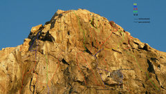 Rock Climbing Photo: Wedge Headwall