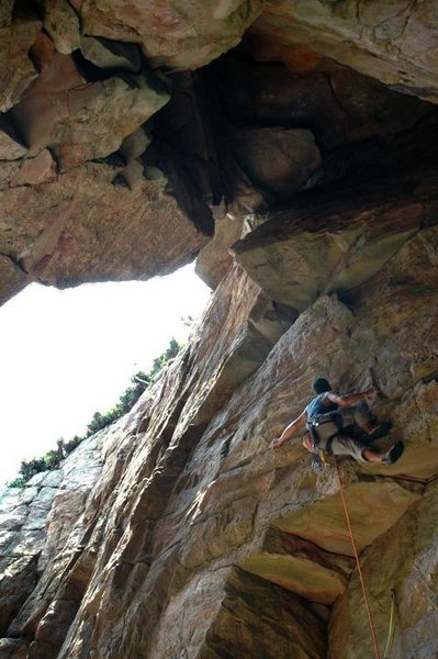 "Rock Climbing Photo: 啊郎 at the ""weird face"""