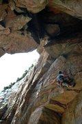 "Rock Climbing Photo: 啊郎 at the ""weird face"""