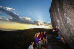Rock Climbing Photo: CJ Yunger's awesome shot of Horizon Line