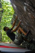Rock Climbing Photo: Ronnie Black Jr. crushing Ranger Rick Sit