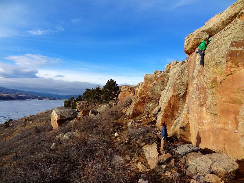 Rock Climbing Photo: Bolt Wall.
