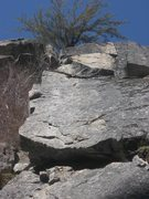 Rock Climbing Photo: the dark half