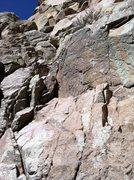 Rock Climbing Photo: Start of the route. Photo Marc Tarnoski.