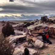 Rock Climbing Photo: Central Utah Stormset