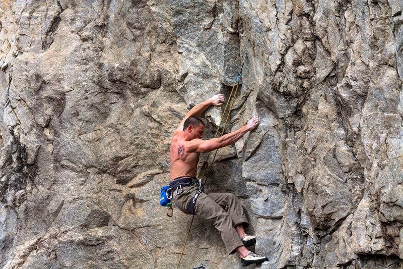 Rock Climbing Photo: Mr. Aidman's