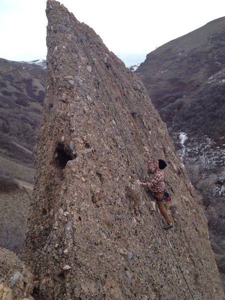 Rock Climbing Photo: Sitting to the west side of Hannibal.