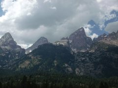 Rock Climbing Photo: Grand Tetons