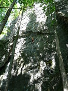 Rock Climbing Photo: What a nice wall!!! Ludovic Maire climbing.