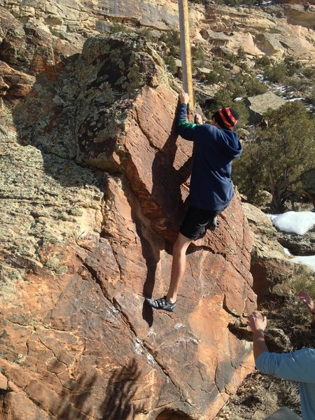 Kody moving through the final moves of Undercling King.